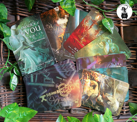Magick of your Oracle cards Tarot