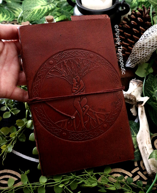 Tree of Life Leather Journal Style 2