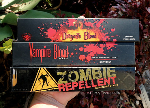 Vampire Blood Dragons Blood Zombie Repellent Incense Sticks
