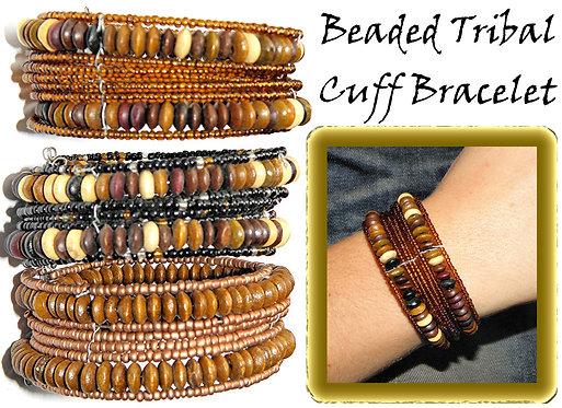 Earth Tribal Cuff Bracelet