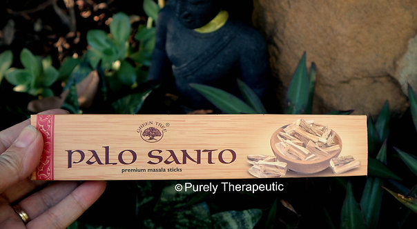 Palo Santo Incense Sticks Green Tree