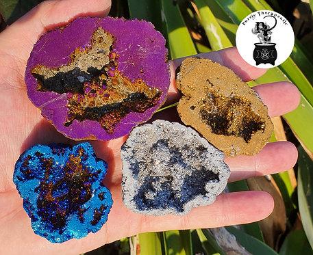 Geode Set of 4 Gemstones