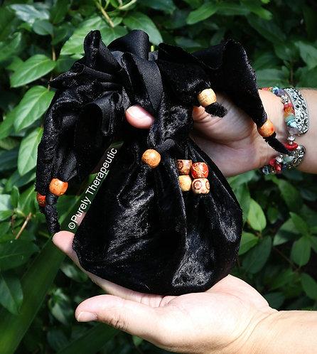 Handmade Black Pouch