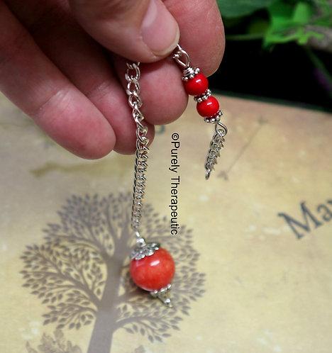 Red Jade Pendulum
