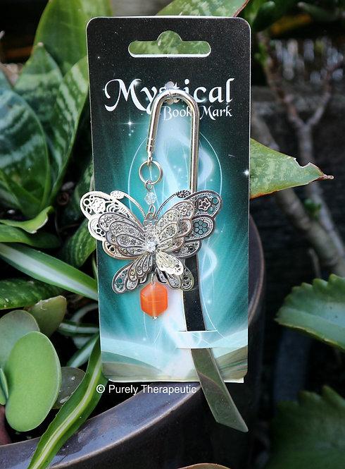 Mystical Bookmark Butterfly Design