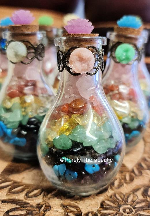 Chakra Healing Bottle (C)
