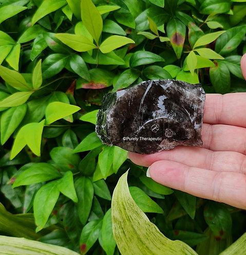 Raw Black Obsidian Gemstone Crystal