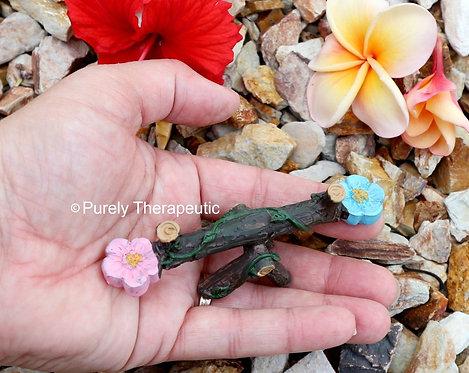 Miniature See-Saw Garden Figurine