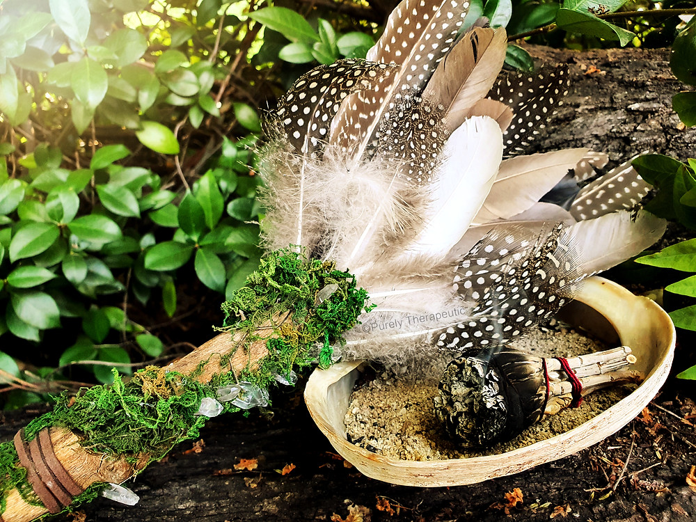 Simply one of the many ways to cleanse or smudge your dream catcher is in the smoke of a White Sage smudge stick.