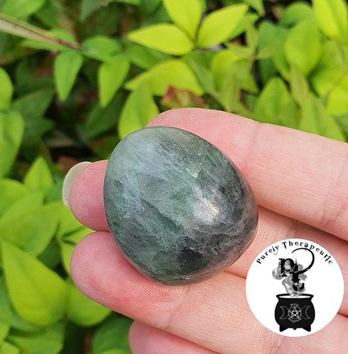Purple Green Fluorite Gemstone Crystal