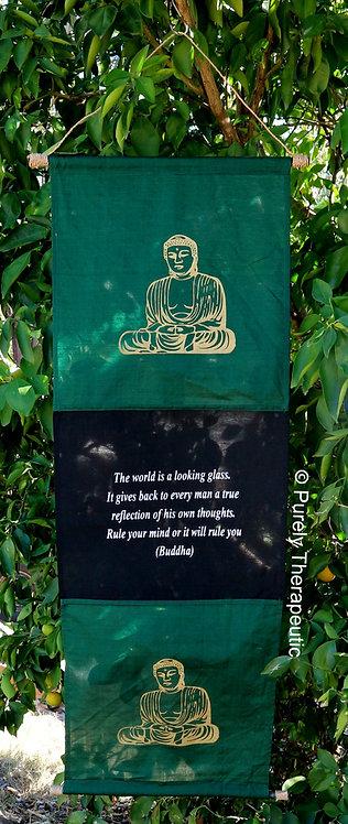 Buddha Flag Wall Scroll