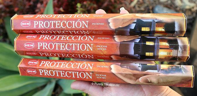 Protection Incense Sticks Hem Brand