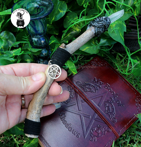 Hand Made Wicca Wand by Purely Therapeutic