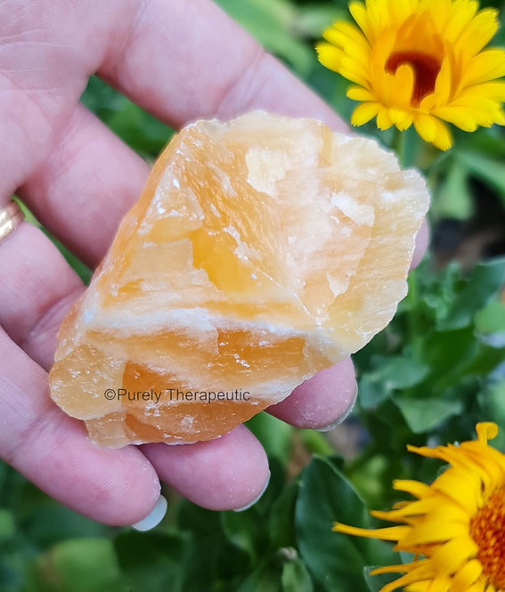 Orange_Calcite_Raw