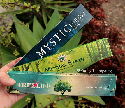 Green Tree New Moon Incense Sticks