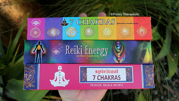 Chakra Reiki Energy Incense Sticks