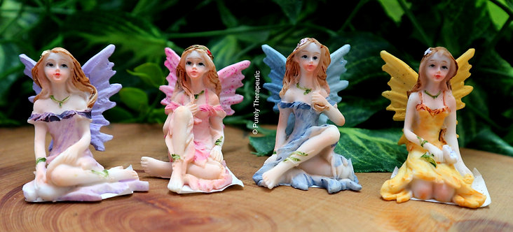 Enchanted Fairy Figurines-Set of 4-S1
