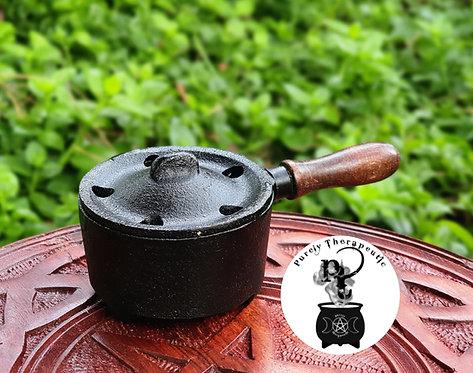 Cast Iron Pan Style Cauldron