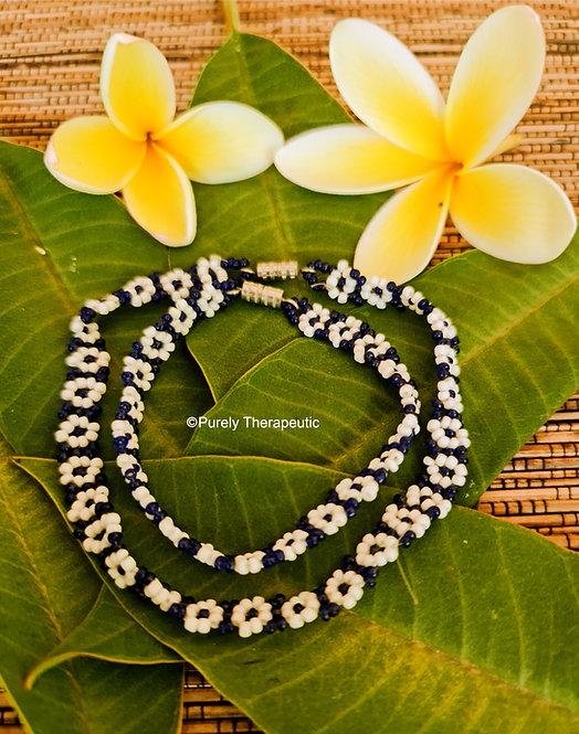 Blue_White_Flower_Beaded_Bracelet_Anklet