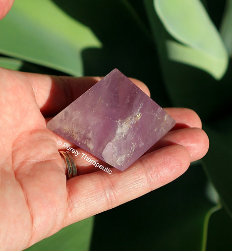 Amethyst Pyramid Gemstone