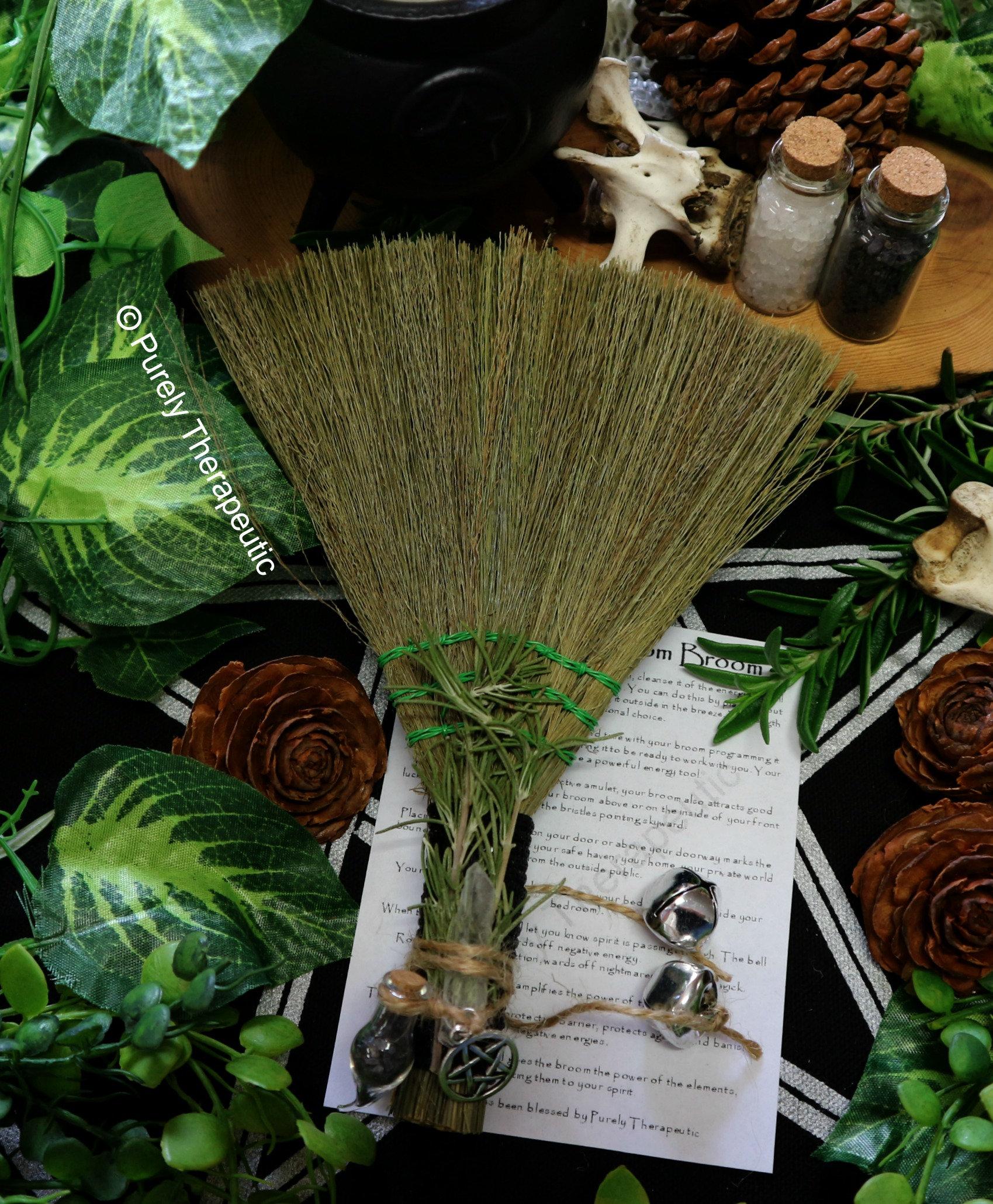 Protection Besom Broom~Black