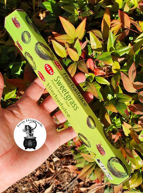 Sweetgrass Hem Incense Sticks