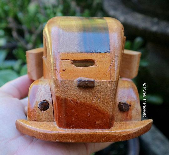 Large Wooden Beetle Car