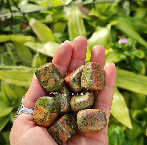 Unakite Gemstone Crystal