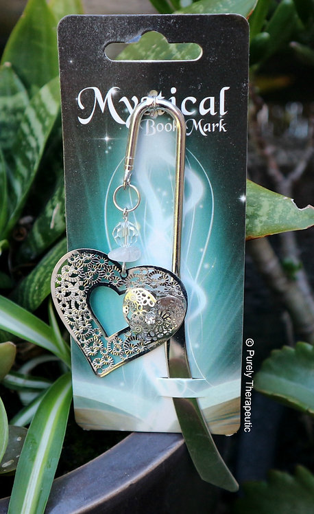 Mystical Bookmark Love Heart