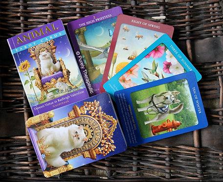 Animal Tarot Cards Deck
