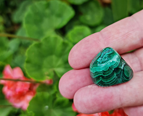 Green Malachite Crystal