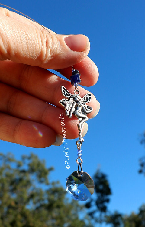 Fairy Magic Suncatcher Sodalite