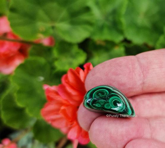 Green Malachite Gemstone Crystal