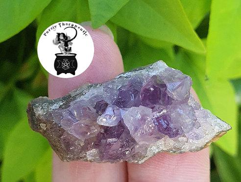 Amethyst Cluster Gemstone