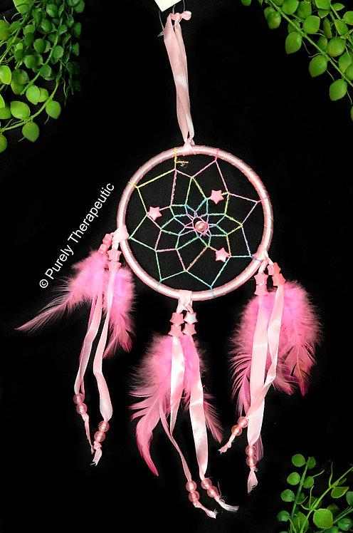 Pink Star Dream Catcher