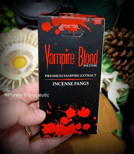Vampire Blood Dhoop Incense Cones~10 Cones +Holder