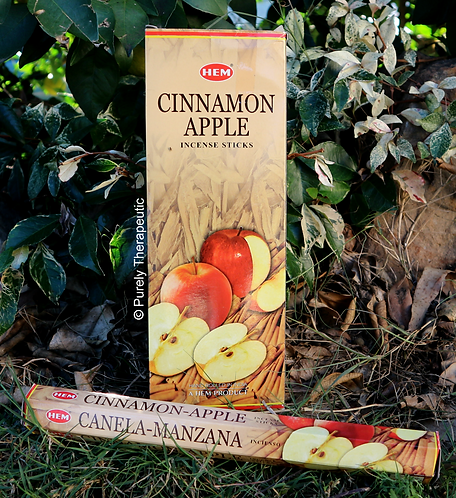 Apple and Cinnamon incense sticks hem
