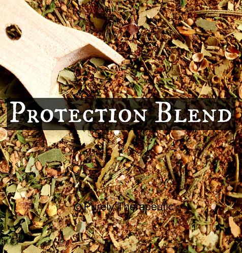 Protection Spell Blend Witchcraft Wicca Purely Therapeutic