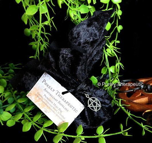 Black Protection Mojo Bag