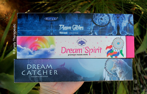 Satya, Green Tree and New Moon Dream Catcher Incense Sticks