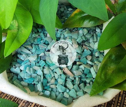 Amazonite Crystal Chips