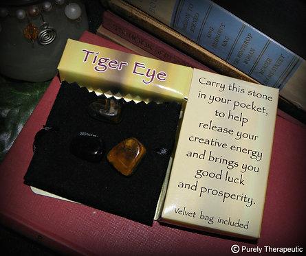 Tiger Eye Gemstone Gift Pack
