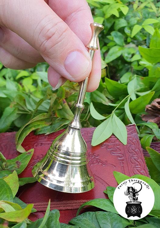 brass altar ritual bell