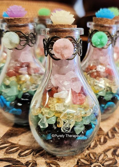 Chakra Healing Bottle (H)