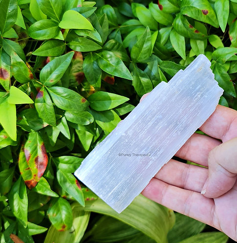 Raw Selenite Charging Gemstone Crystal Plate
