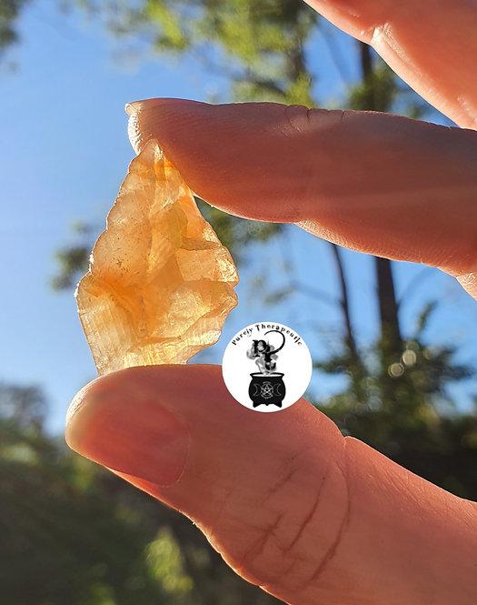 Honey Calcite Yellow Gemstone