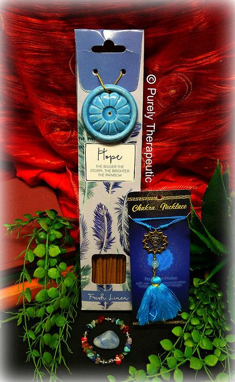 Mini Throat Chakra Incense Pack