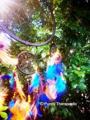 To keep the energy in your dream catcher positive and full of life, it is important to cleanse/smudge and recharge your dream catcher as you would your crystals or home.
