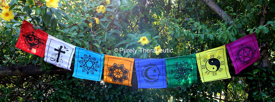 Multi Faith Symbol Flags