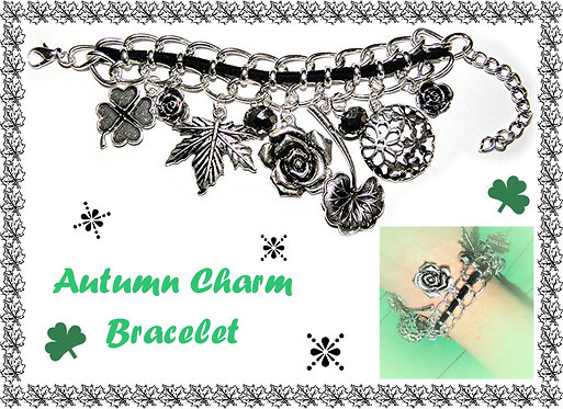 Autumn Charm Bracelet